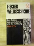 2:1: Fischer Weltgeschichte, Bd.25, Das Zeitalter des Absolutismus und der Aufklärung