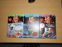 3 Bände ZAC & Co,Das Geheimnis im Hafen,Falsches Spiel im Olympiastadion,Tunnelgangster am Eiffelturm