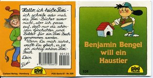 *2:1-Tausch* Pixi Bücher Nr. 526 Benjamin Bengel will ein Haustier