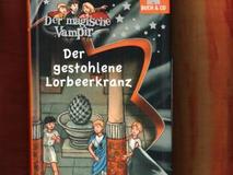 Der magische Vampir: Der gestohlene Lorbeerkranz (mit Audio-CD)