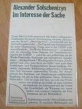 (2:1) antiquarisch: Im Interesse der Sache: Alle Erzählungen und der Roman